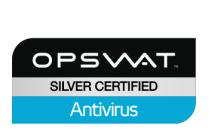OPSWAT Silver Certified - Antivirus
