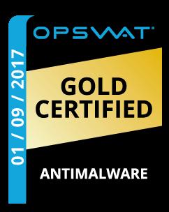OPSWAT Gold Certified Anti Malware