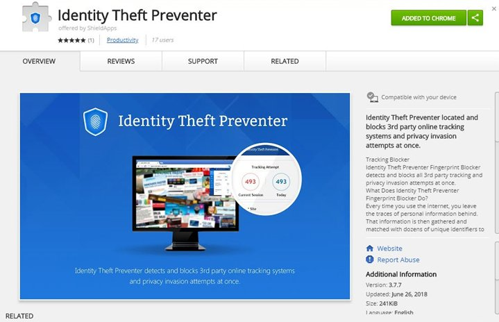 Identity Theft Preventer Support | ShieldApps
